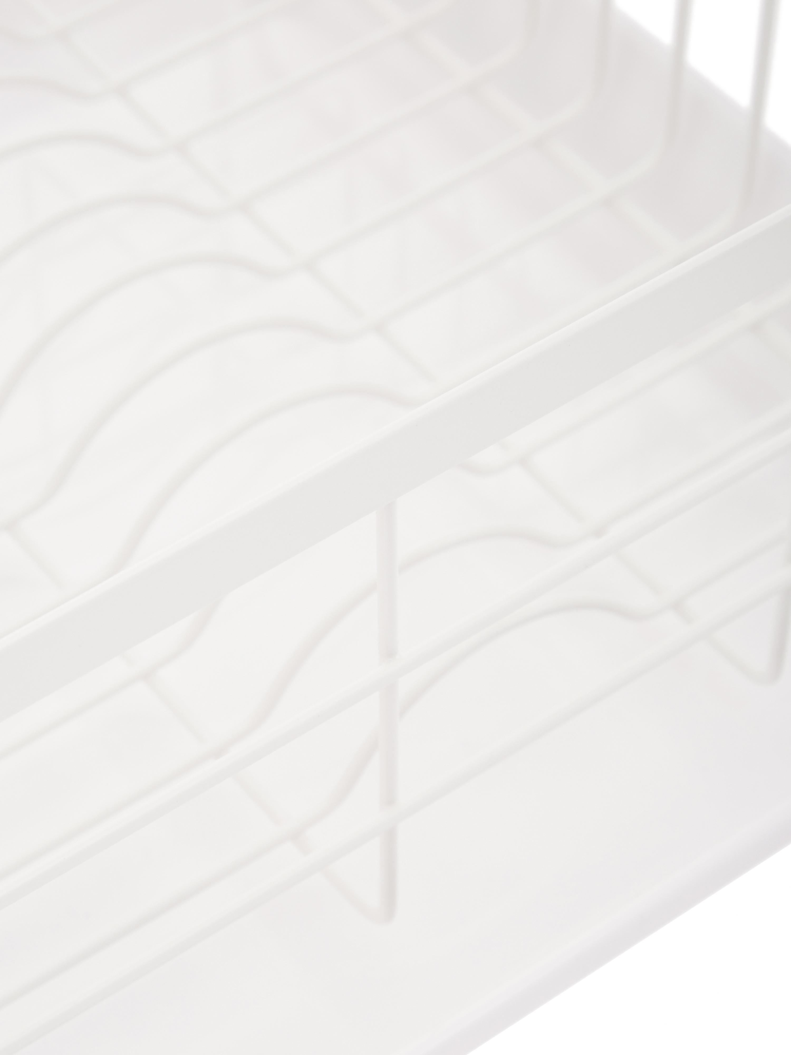Suszarka do naczyń  Tosca, Biały, drewno naturalne, S 47 x W 20 cm