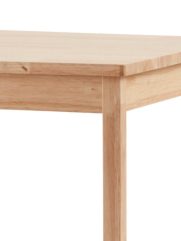 Kindertisch Saga, Gummibaumholz, Gummibaumholz, 45 x 45 cm