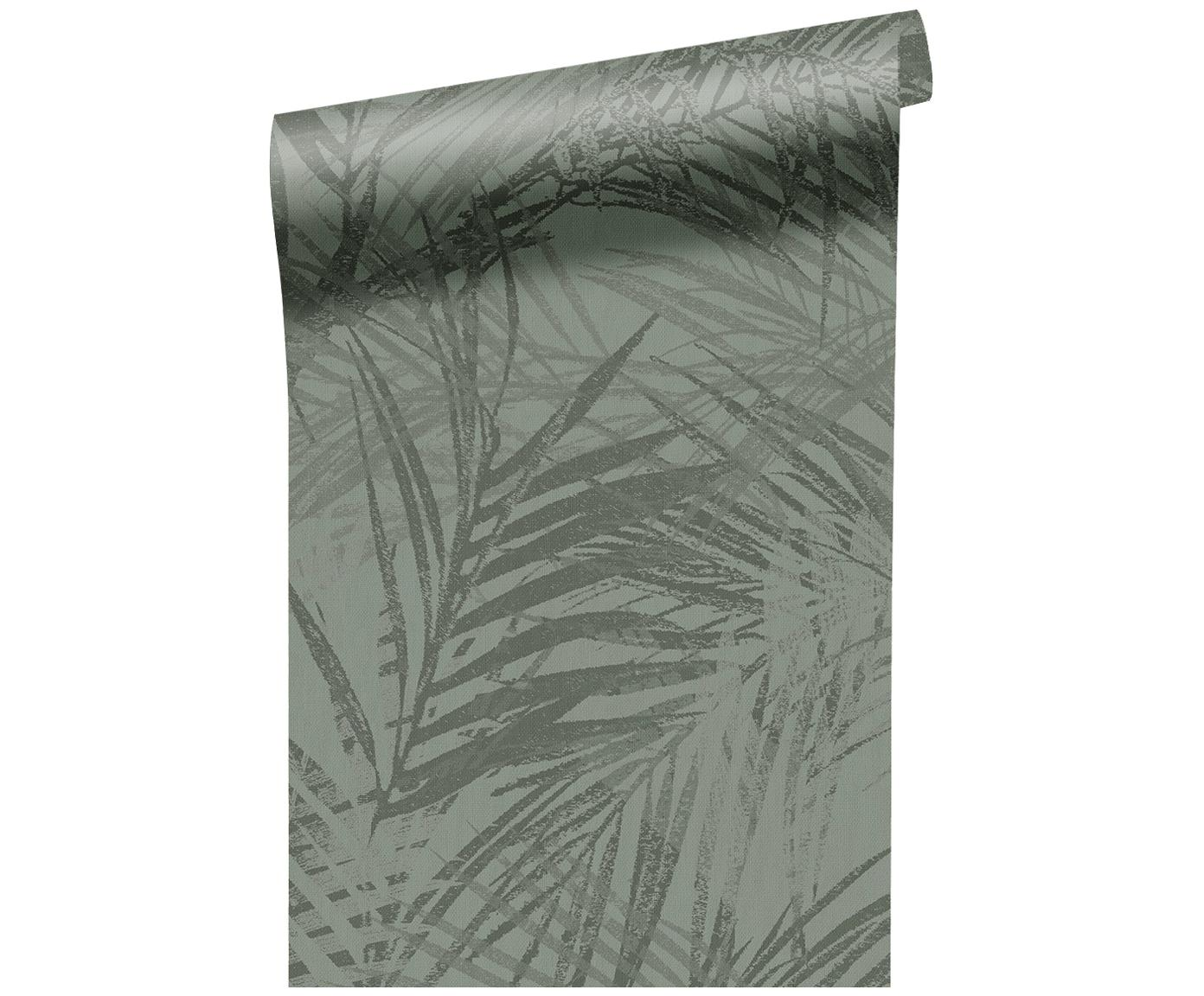 Carta da parati Summer, Vello, Verde oliva, P 52 x L 1005 cm