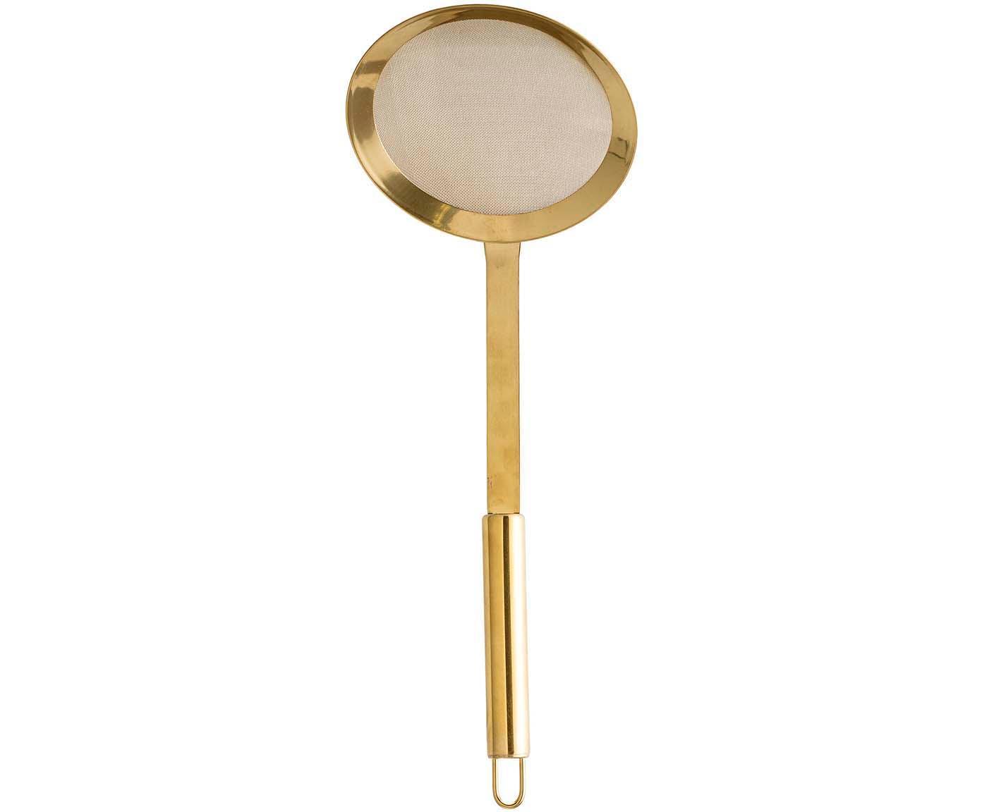 Schuimspaan Mingolet, Gecoat edelstaal, Messingkleurig, Ø 13 x L 35 cm