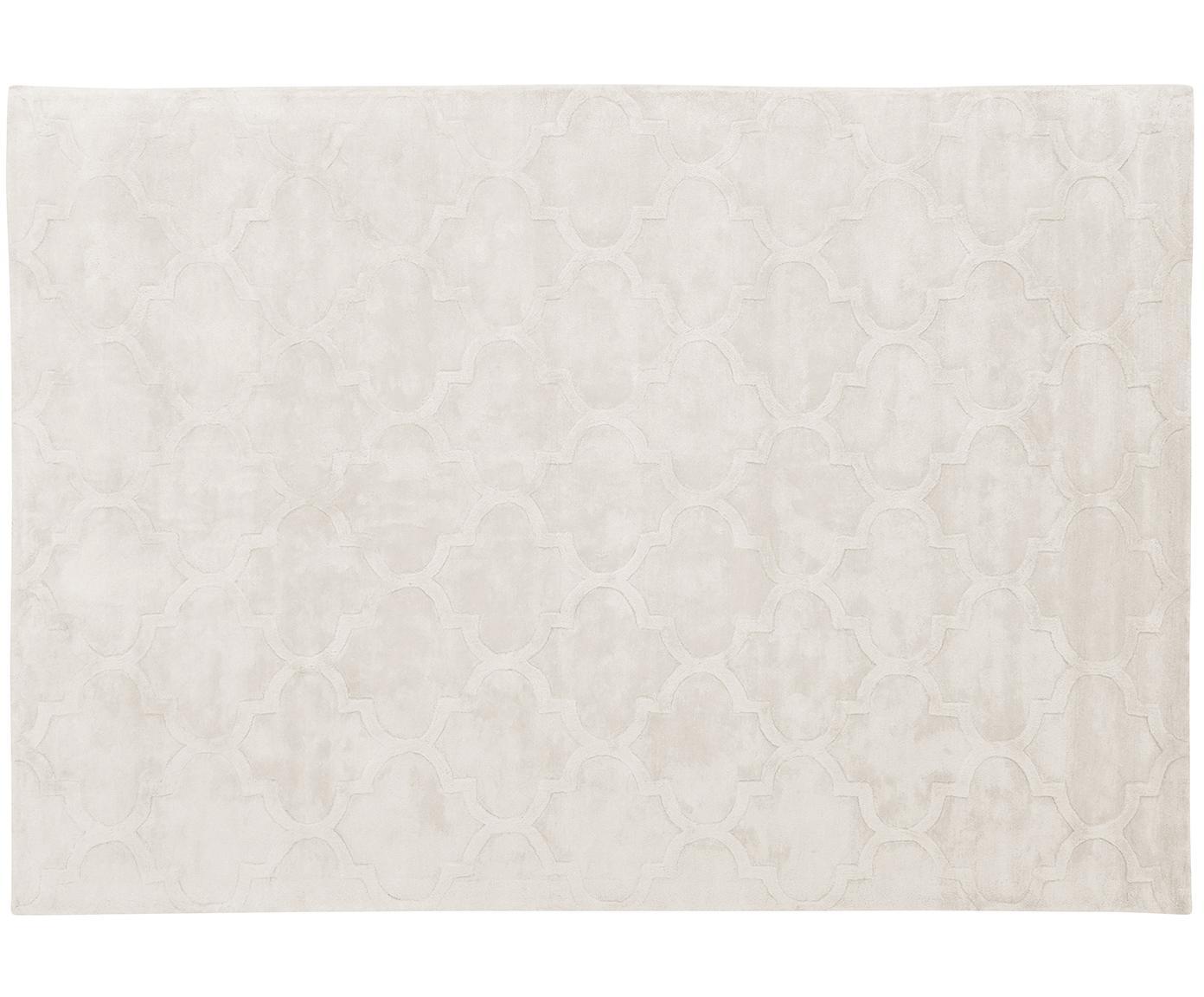 Ręcznie tuftowany dywan z wiskozy Magali, Kremowy, S 160 x D 230 cm (Rozmiar M)
