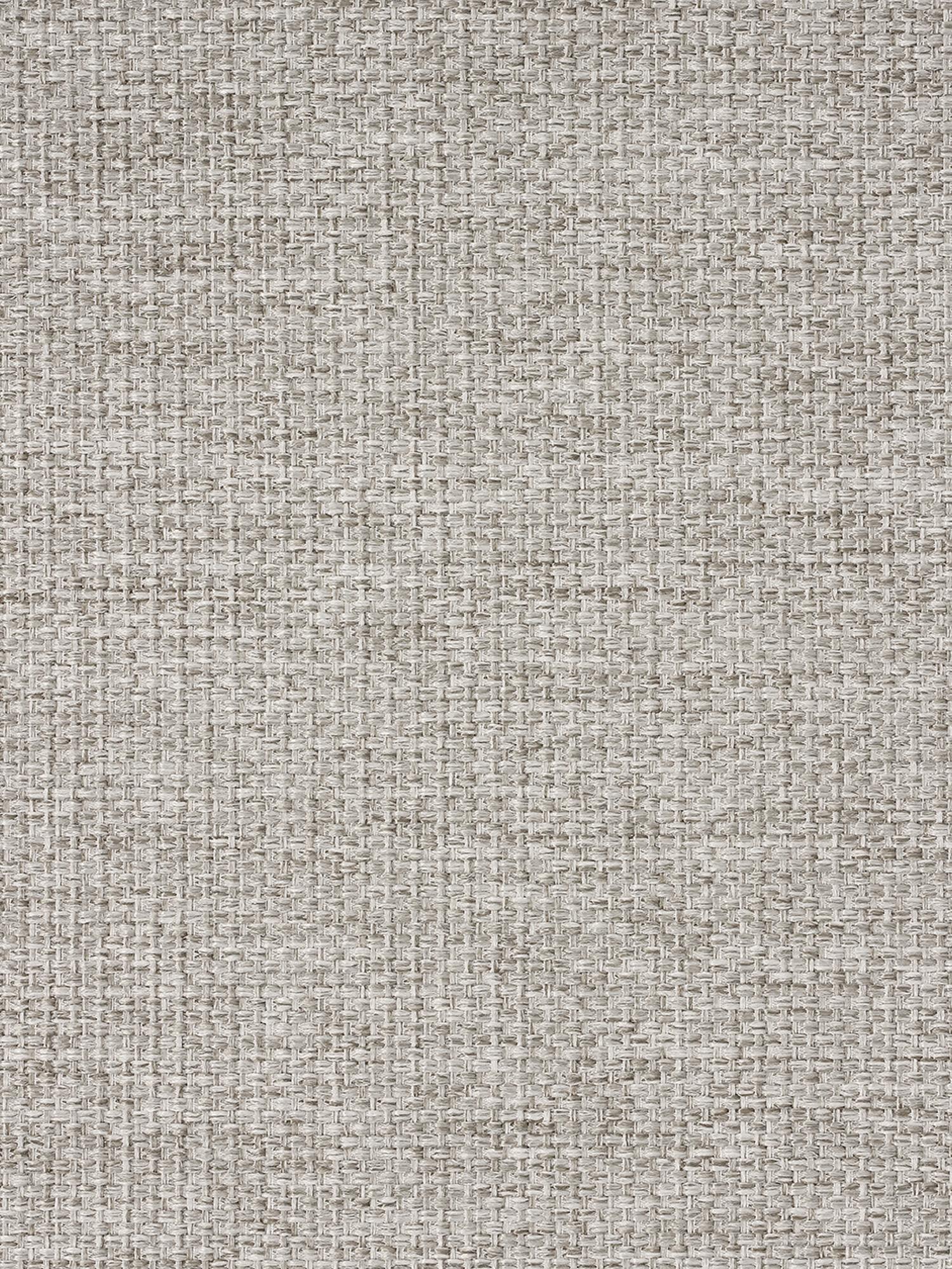 Ecksofa Emma, Bezug: Polyester 100.000 Scheuer, Gestell: Massives Kiefernholz, Füße: Metall, pulverbeschichtet, Webstoff Beige, Füße Schwarz, B 302 x T 220 cm