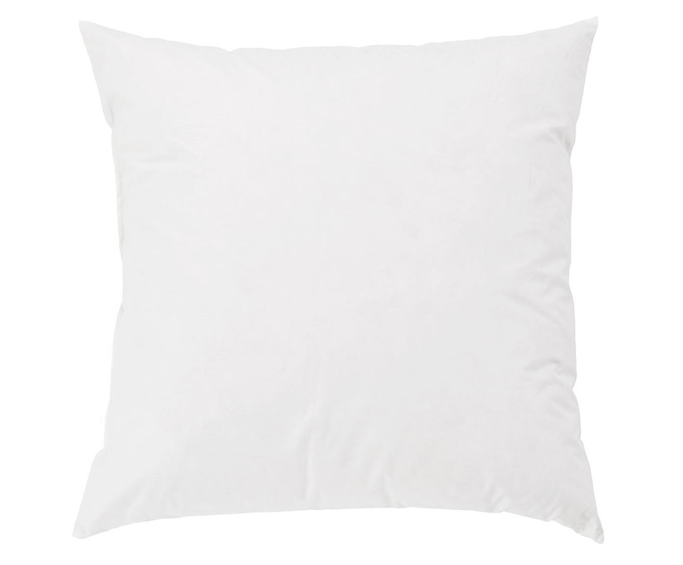 Relleno de cojín Komfort, 45x45, Funda: percal Mako, 100%algodón, Blanco, An 45 x L 45 cm