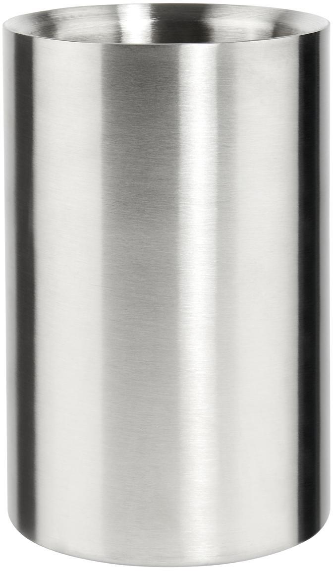 Flaschenkühler The Cooler, Edelstahl, Edelstahl, Ø 12 x H 19 cm