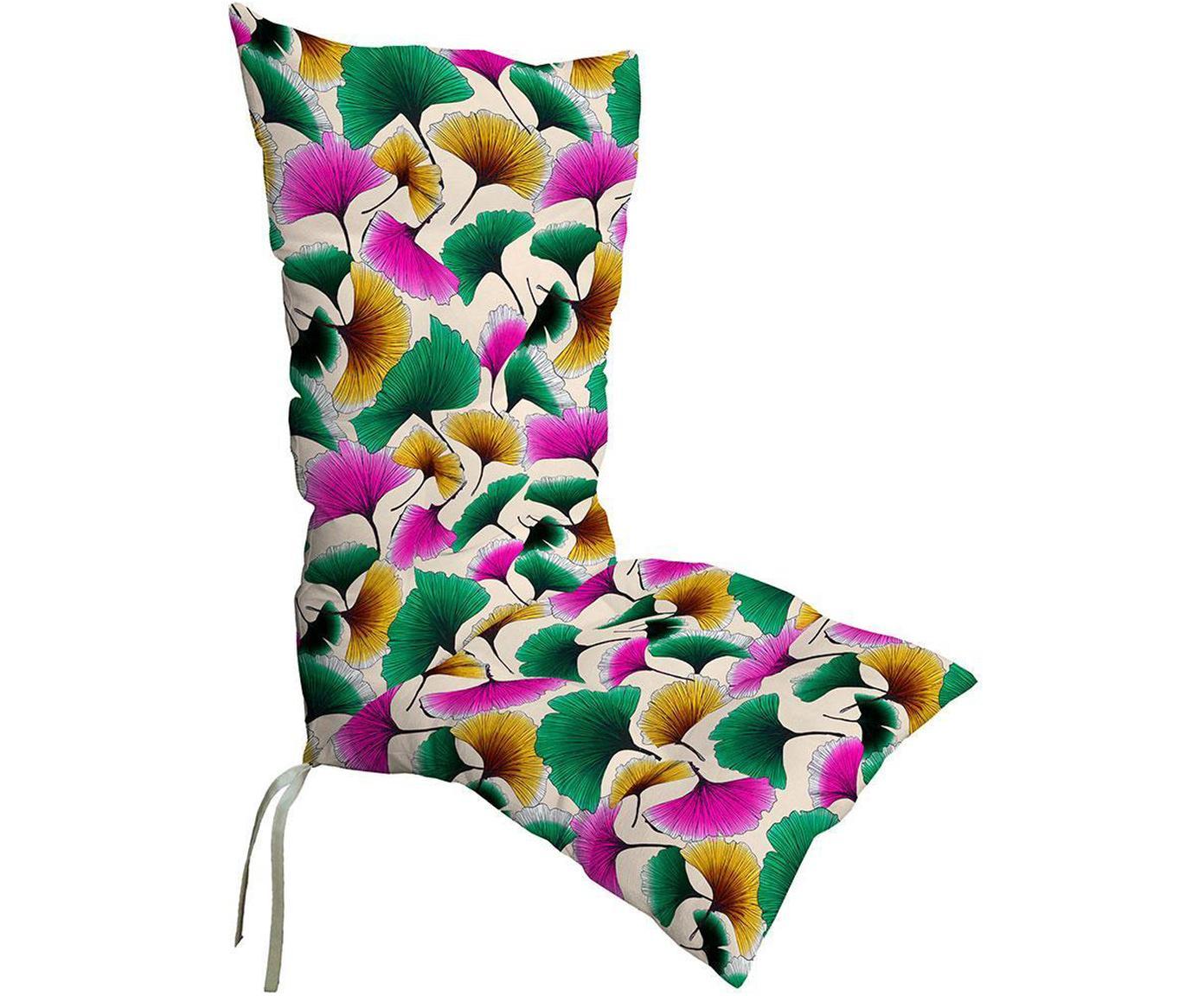 Cojín para silla con respaldo Mursi, Funda: fibra acrílica con teflon, Multicolor, An 50 x L 123 cm