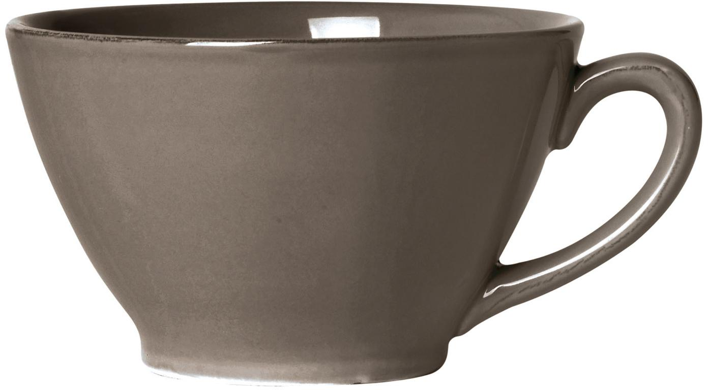 Taza grande Constance, estilo rústico, Gres, Marrón, Ø 18 x Al 9 cm