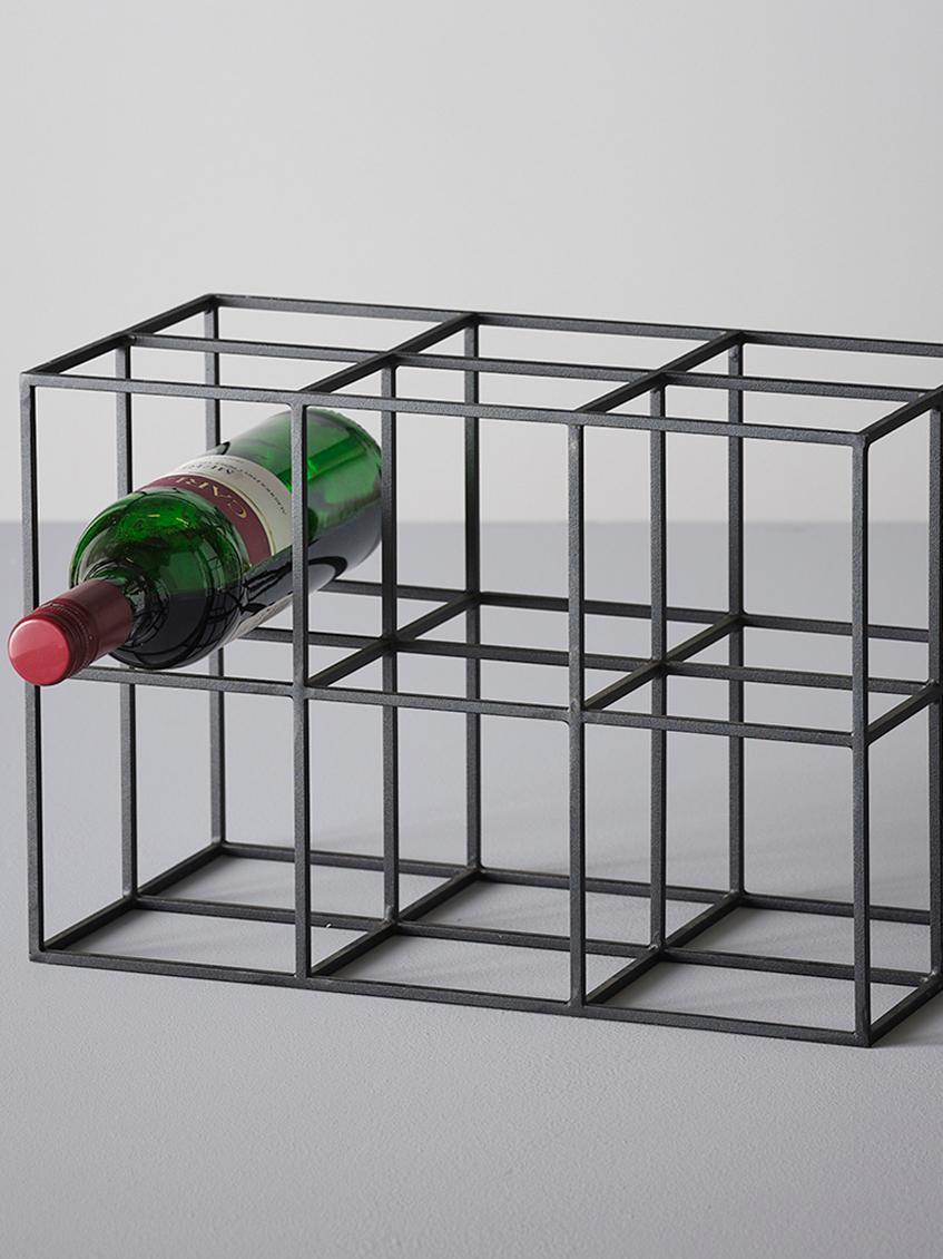 Weinregal Vinnie Fur 6 Flaschen In Schwarz Westwingnow