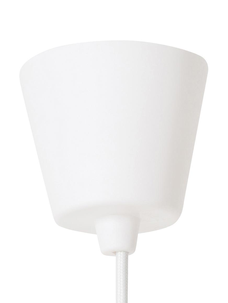 Lampada a sospensione Ray, Metallo rivestito, Bianco, Ø 70 x Alt. 36 cm