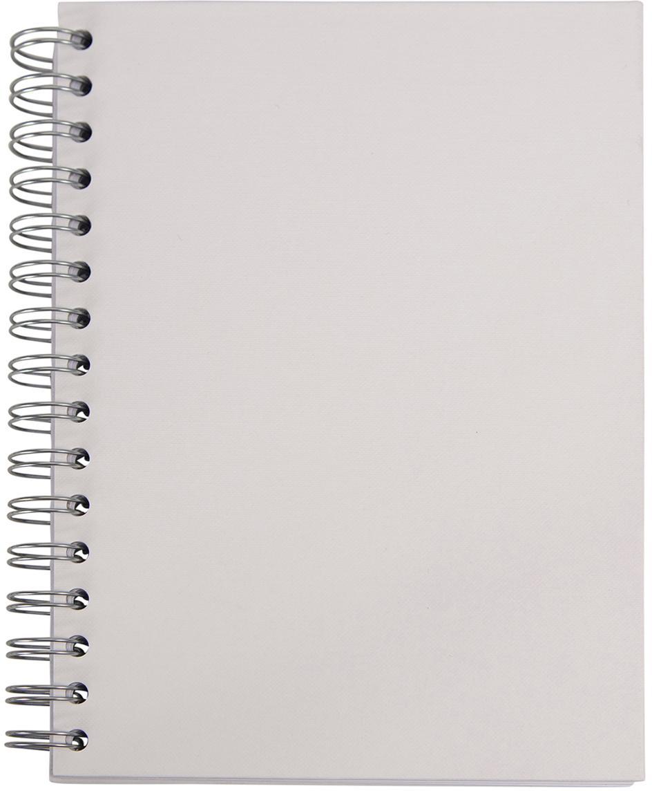 Notizbuch Bürli, Weiß, 16 x 21 cm