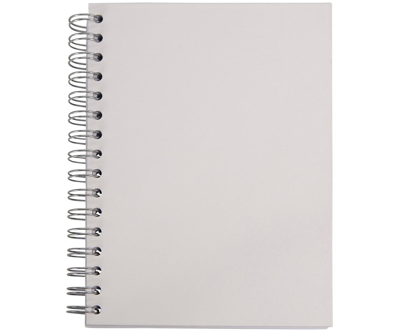 Quaderno a spirale Bürli, Bianco, L 16 x A 21 cm