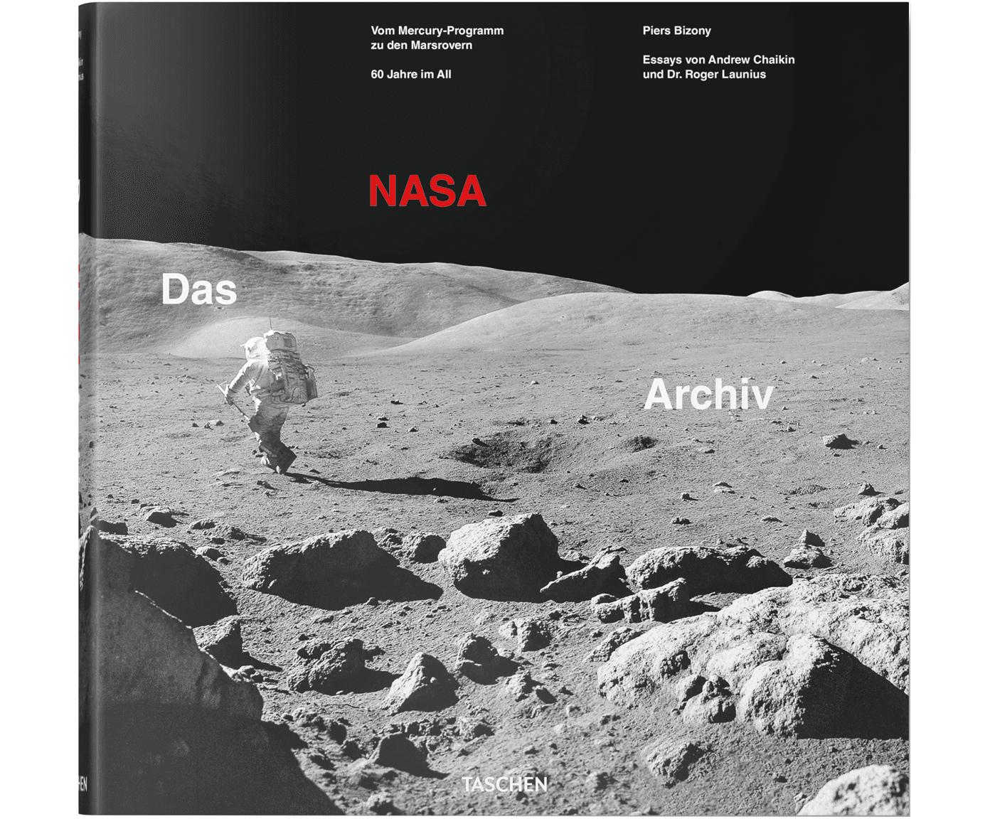Album Das NASA Archiv: 60 Jahre im All, Twarda okładka, papier, Wielobarwny, D 33  x S 33 cm