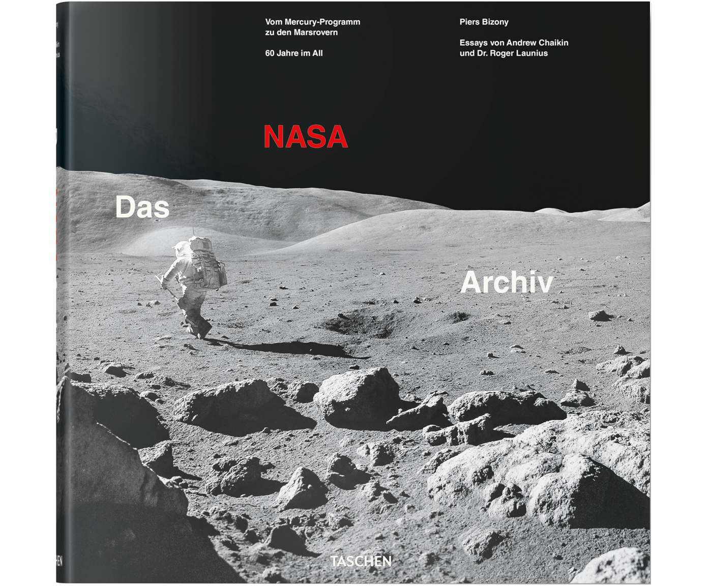 Libro illustrato The NASA Archives: 60 Years In Space, Copertina rigida, carta, Multicolore, Lung. 33 x Larg. 33 cm