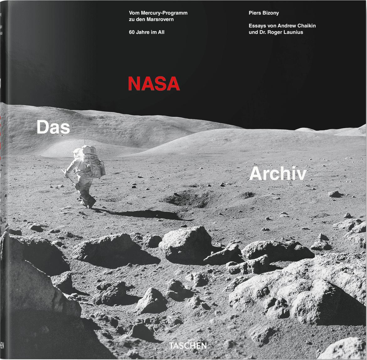 Geïllustreerd boek The NASA Archives: 60 Years In Space, Hardcover, papier, Multicolour, 33 x 33 cm