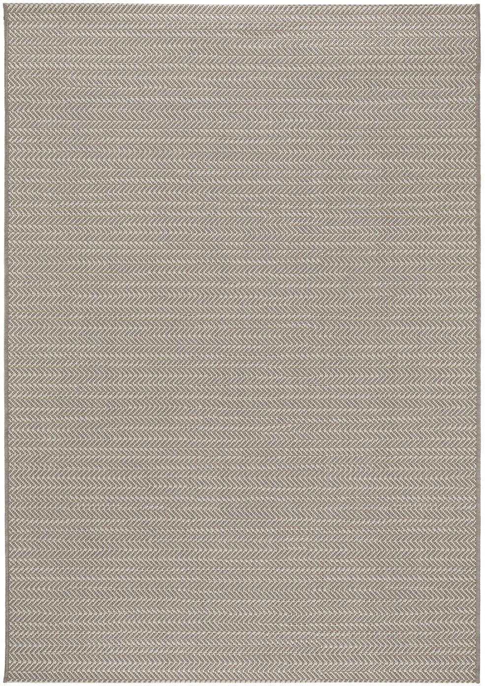 Tappeto da interno-esterno Metro Needle, Polipropilene, Beige, Larg. 120 x Lung. 170 cm (taglia S)