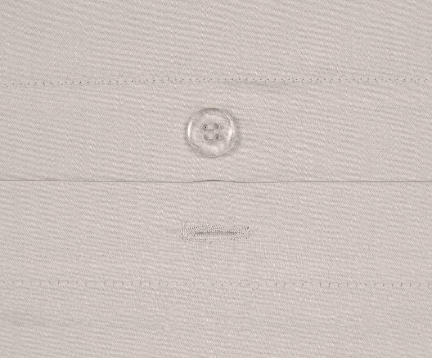 Pościel z satyny bawełnianej Premium, Taupe, 135 x 200 cm