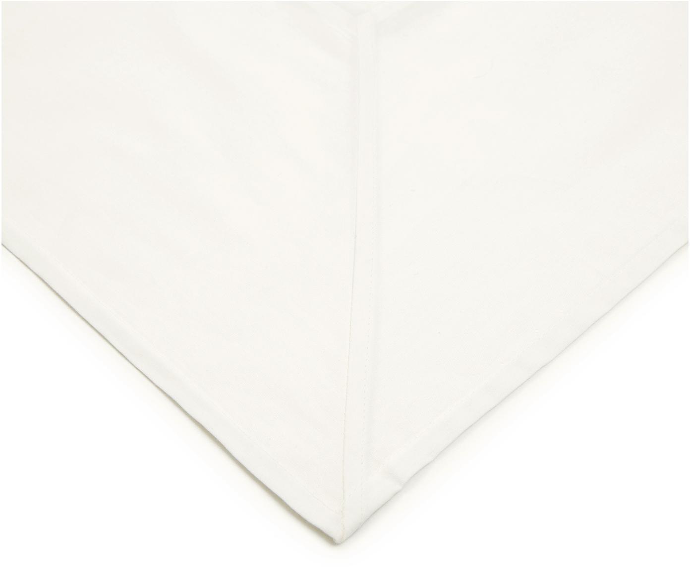 Obrus Ariana, Bawełna, Złamana biel, S 140 x D 270 cm