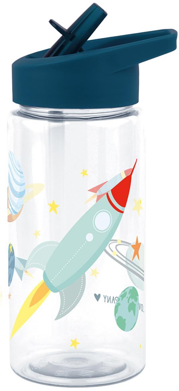 Drinkfles Space, Kunststof, Donkerblauw, 450 ml