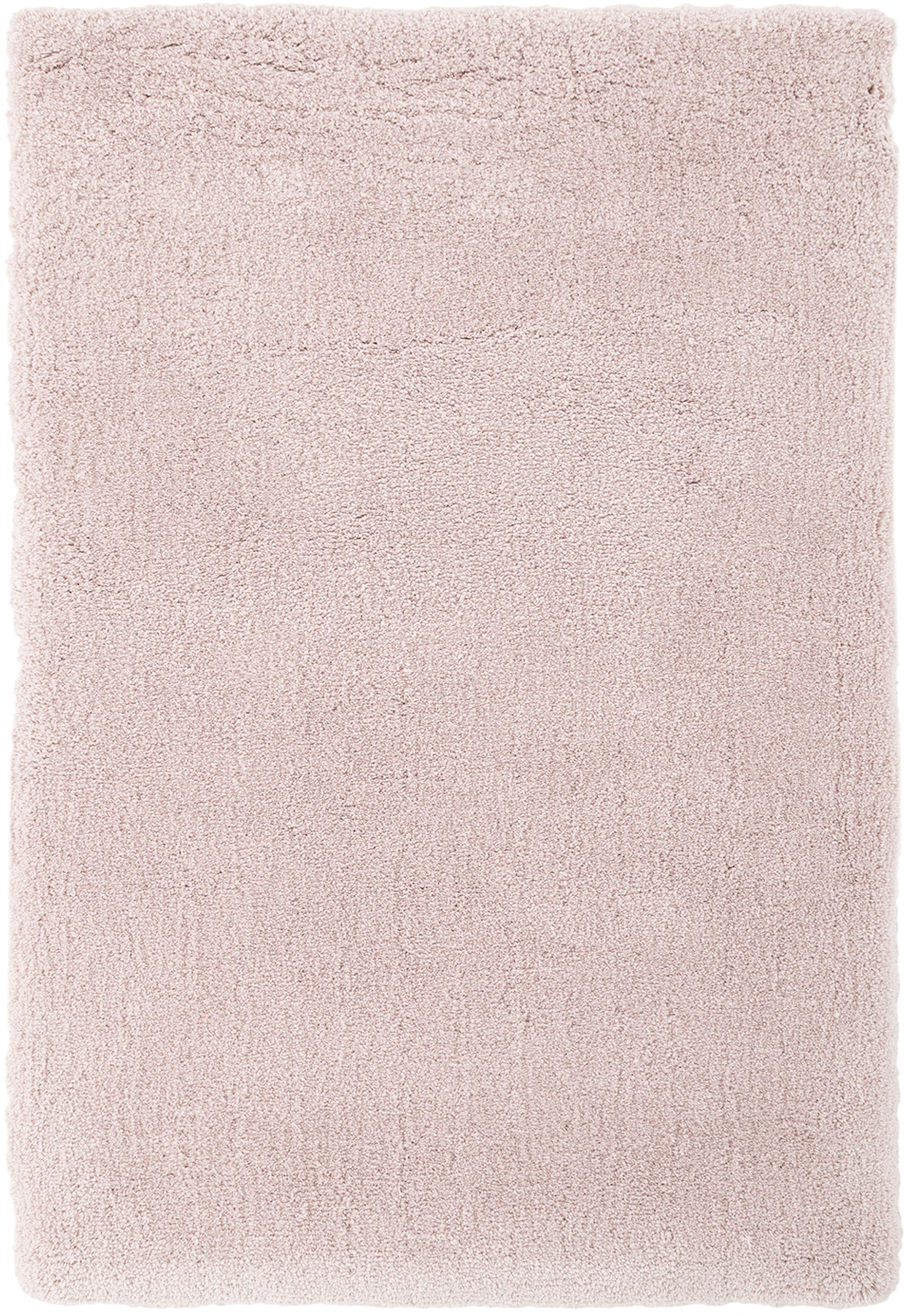 Tappeto peloso morbido rosa Leighton, Retro: 70% poliestere, 30% coton, Rosa, Larg. 200 x Lung. 300 cm (taglia L)