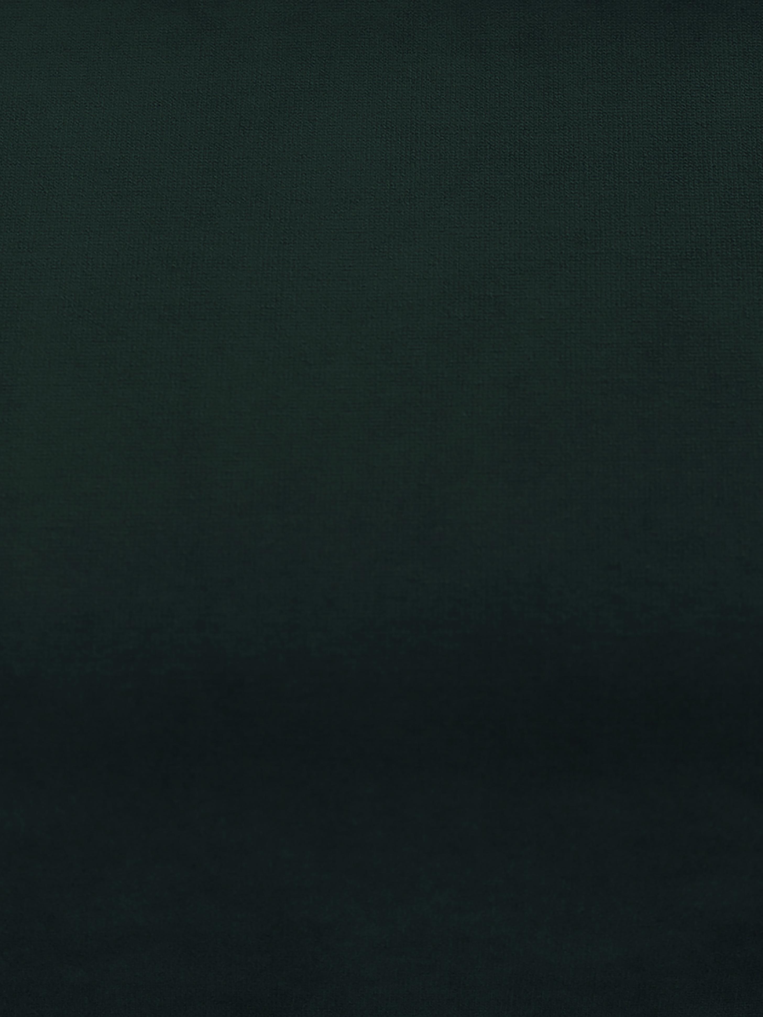 Sillón de terciopelo Moby, Tapizado: terciopelo (tapizado de p, Estructura: madera de pino maciza, Patas: metal, Terciopelo verde oscuro, An 90 x F 90 cm