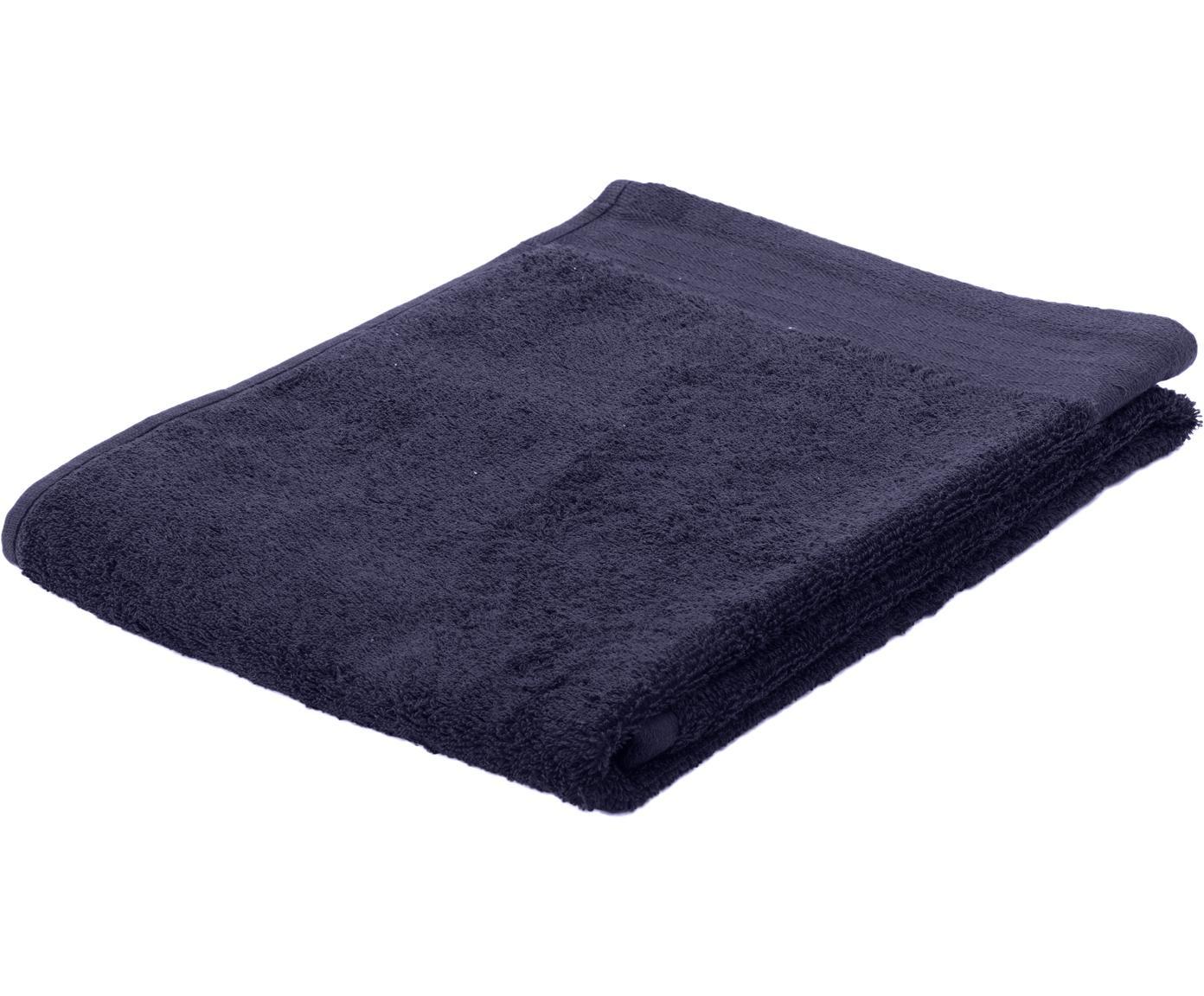 Handdoek Soft Cotton, Katoen, middelzware kwaliteit, 550 g/m², Marineblauw, Gastendoekje