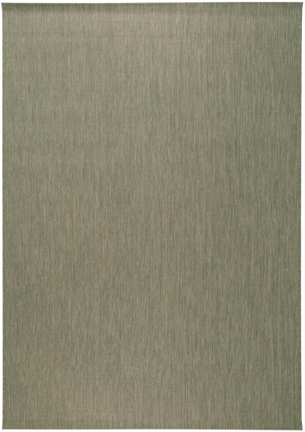 In- & outdoor vloerkleed Metro Needle, Polypropyleen, Groen, B 160 x L 230 cm (maat M)