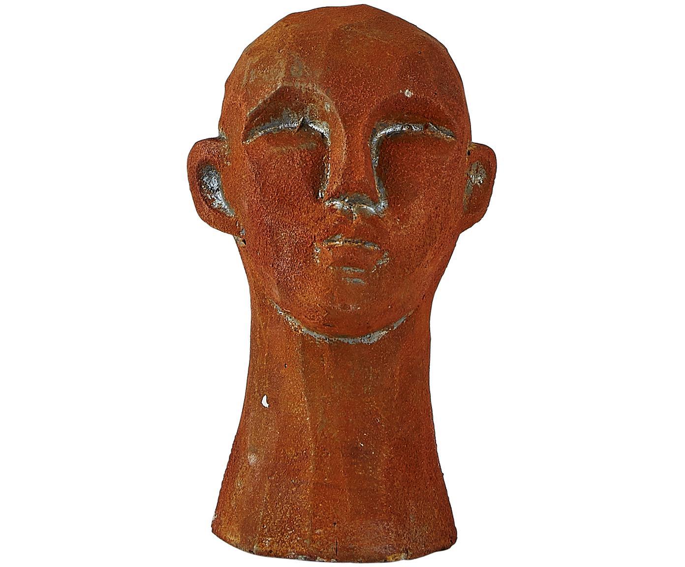 Deko-Objekte-Set Figure Head, 3-tlg., Beton, Weiß, Braun, Grau, Ø 9 x H 15 cm