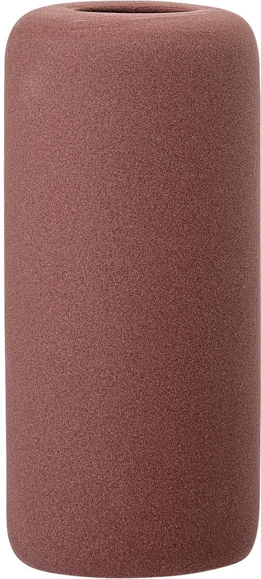 Vaso in terracotta Redstone, Terracotta, Bordeaux, Ø 6 x Alt. 13 cm