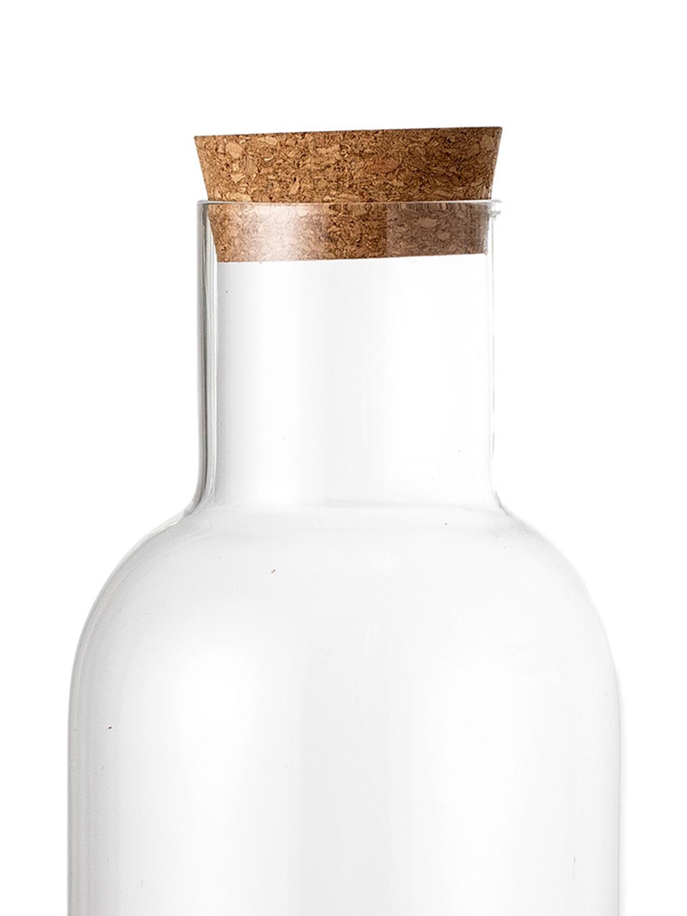 Jarra Clearance, Tapa: corcho, Transparente, 1 L