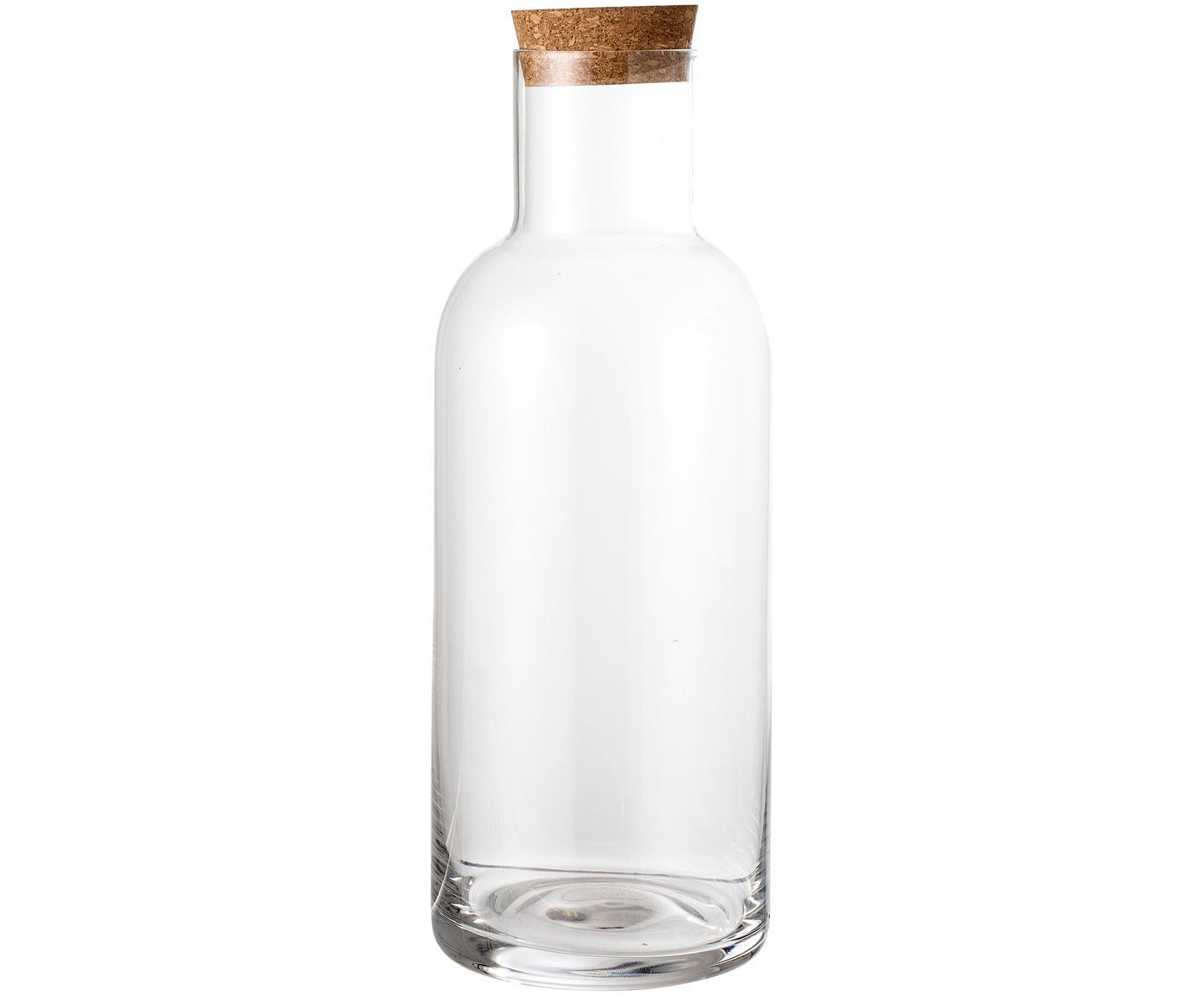 Karaf Clearance, Deksel: kurk, Transparant, 1 L