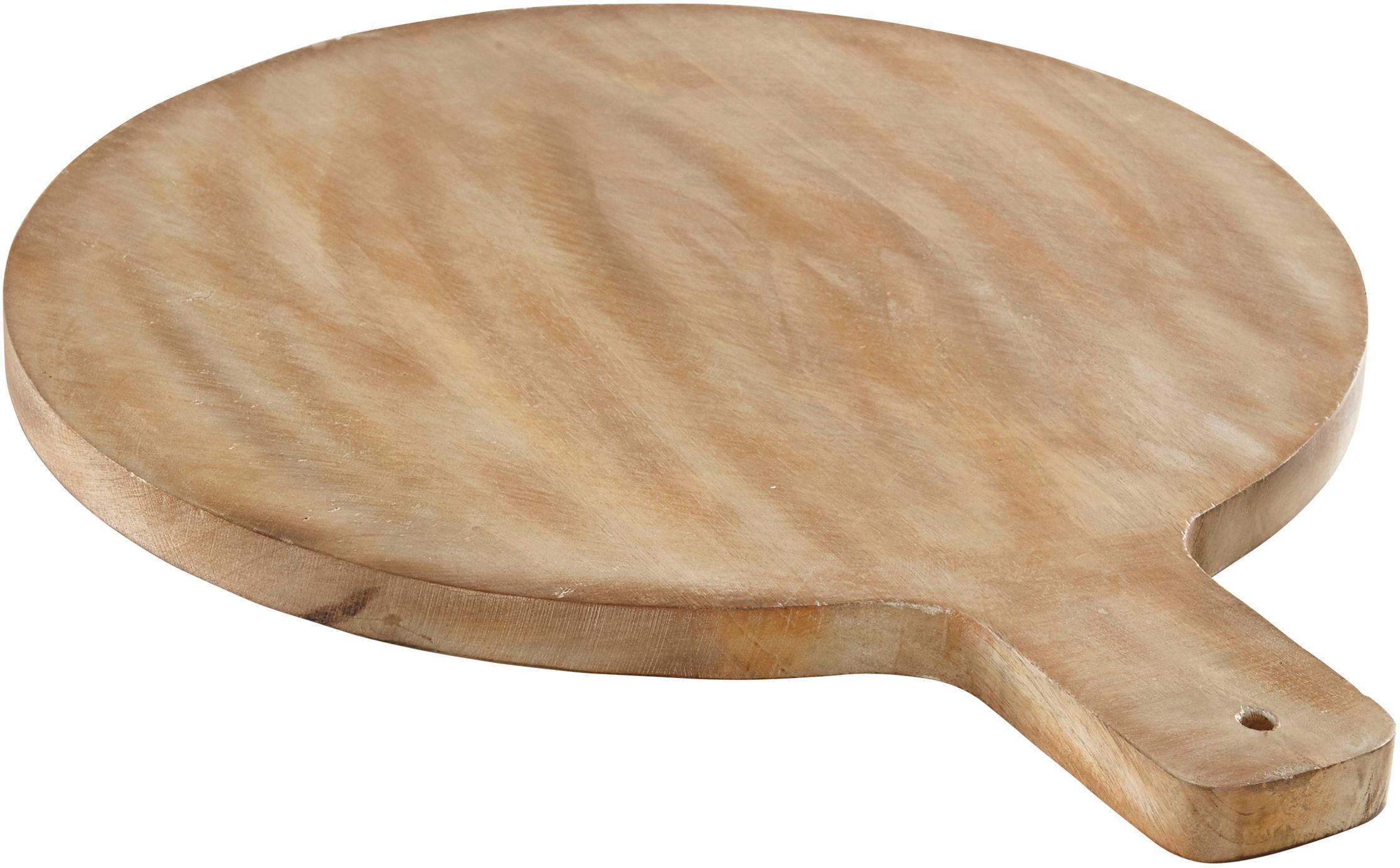 Tabla de cortar de madera Melker, Madera de acacia, Madera de acacia, An 58 x F 46 cm