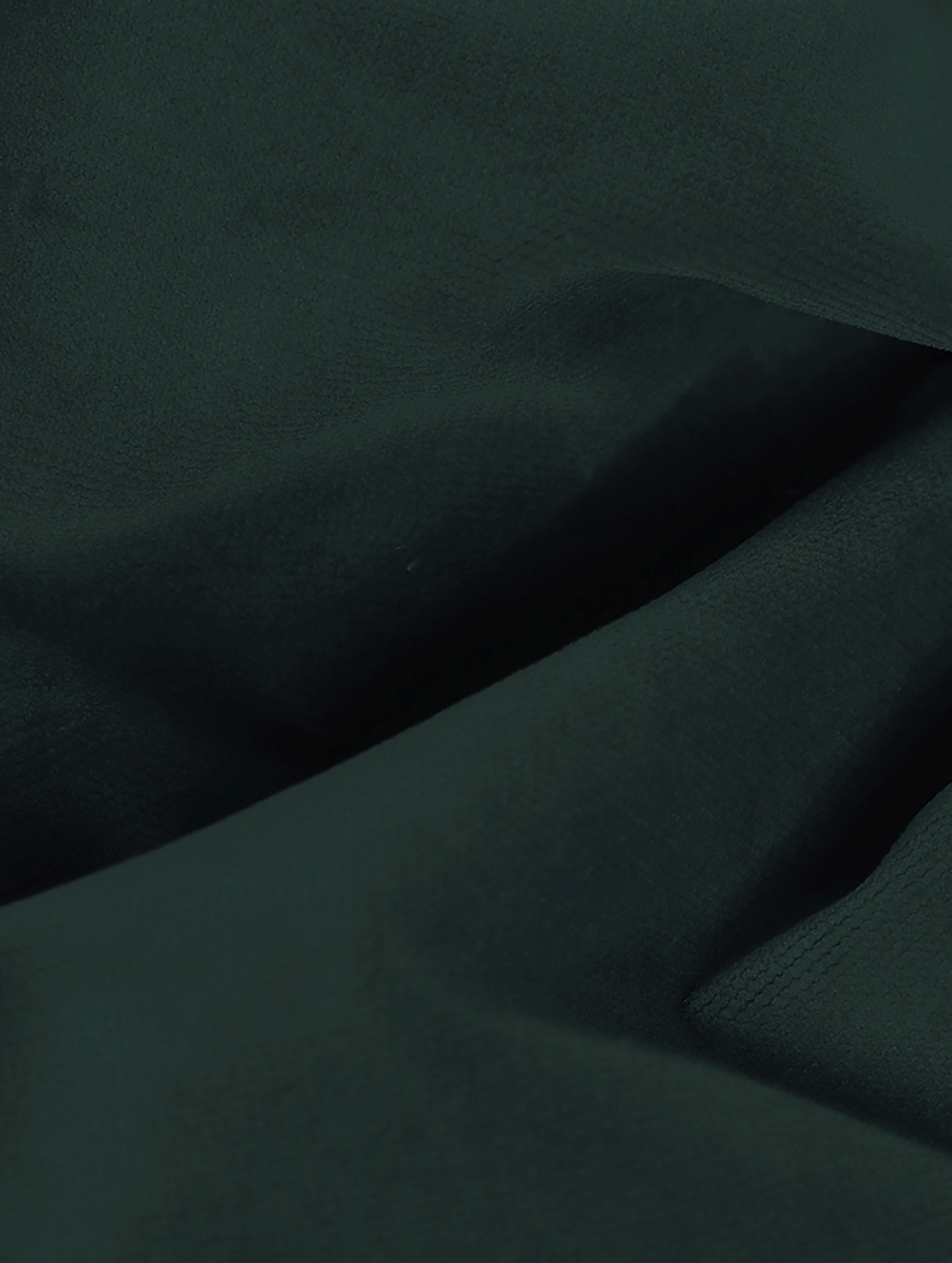 Sofa-Hocker Moby aus Samt, Bezug: Samt (Hochwertiger Polyes, Gestell: Massives Kiefernholz, Füße: Metall, pulverbeschichtet, Samt Dunkelgrün, 78 x 48 cm