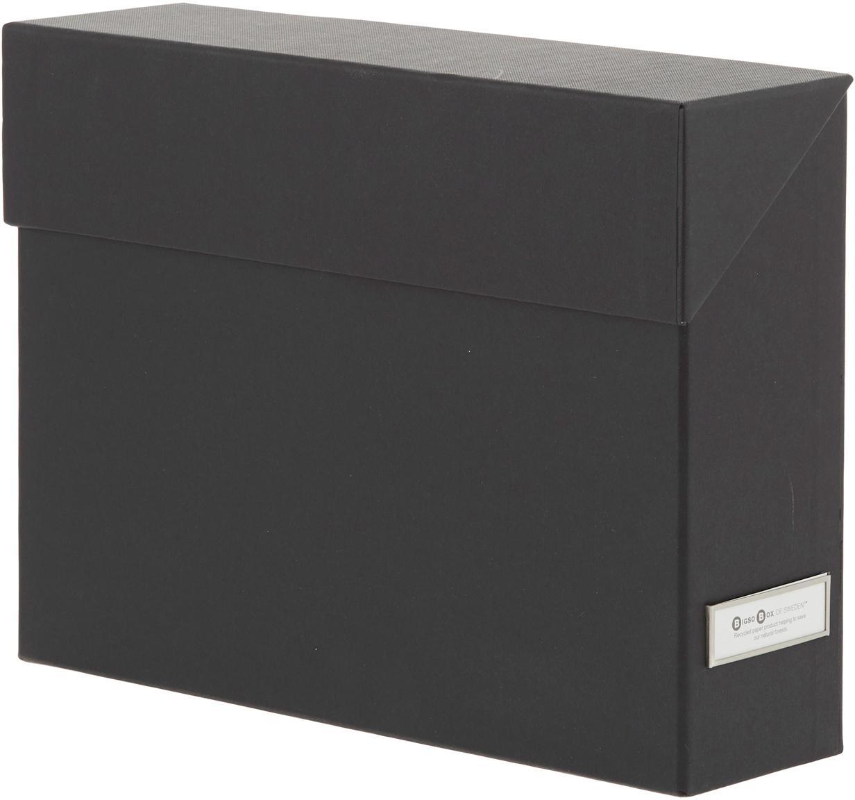 Organizador Lovisa, 13pzas., Organizador: cartón laminado, Negro, An 33 x Al 24 cm