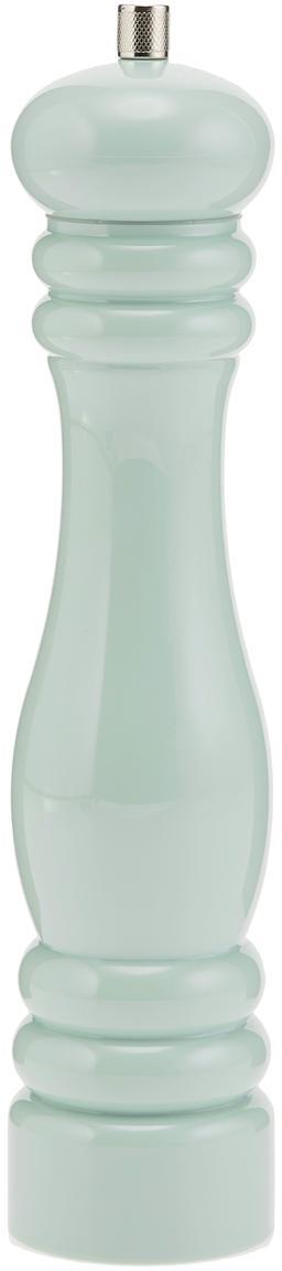 Molinillo Bailey, Grinder: cerámica, plástico, Azul claro, zinc, Ø 8 x Al 32 cm