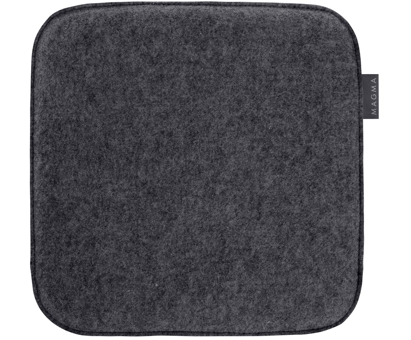 Cuscino sedia Avaro Square, 4 pz., Antracite, P 35 x L 35 cm