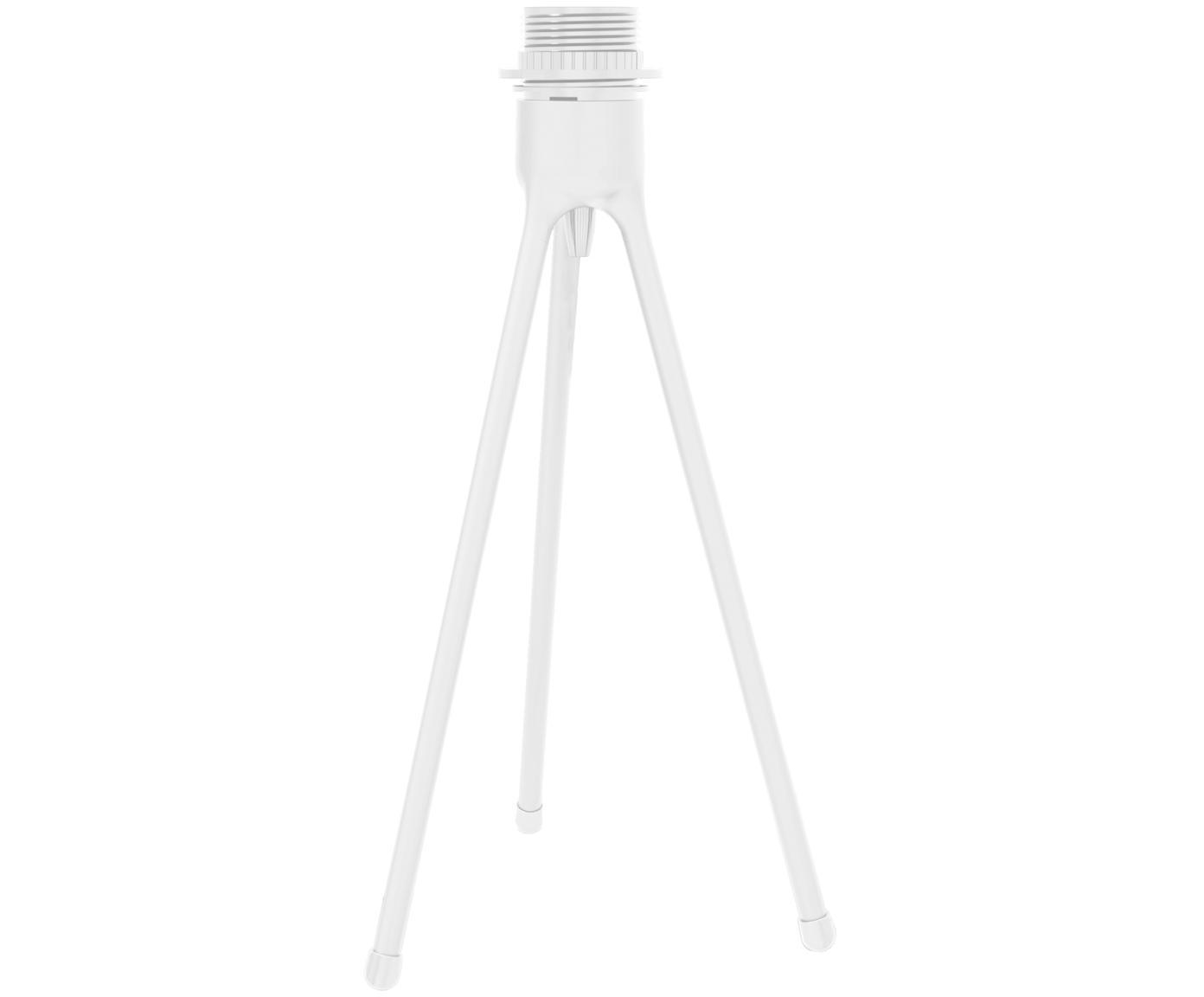 Lampvoet voor tafellamp Tripod, Lampvoet: gecoat aluminium, Wit, Ø 19 x H 36 cm