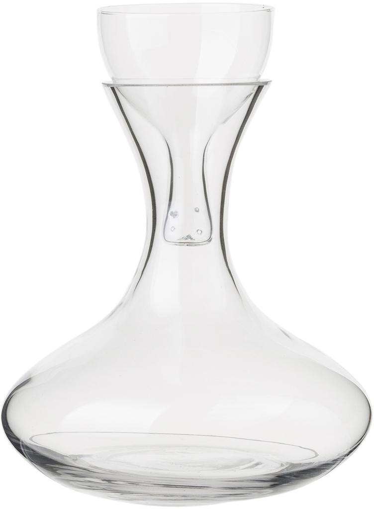 Decanter da vino rosso Simplicity, Vetro, Trasparente, 1.85 l
