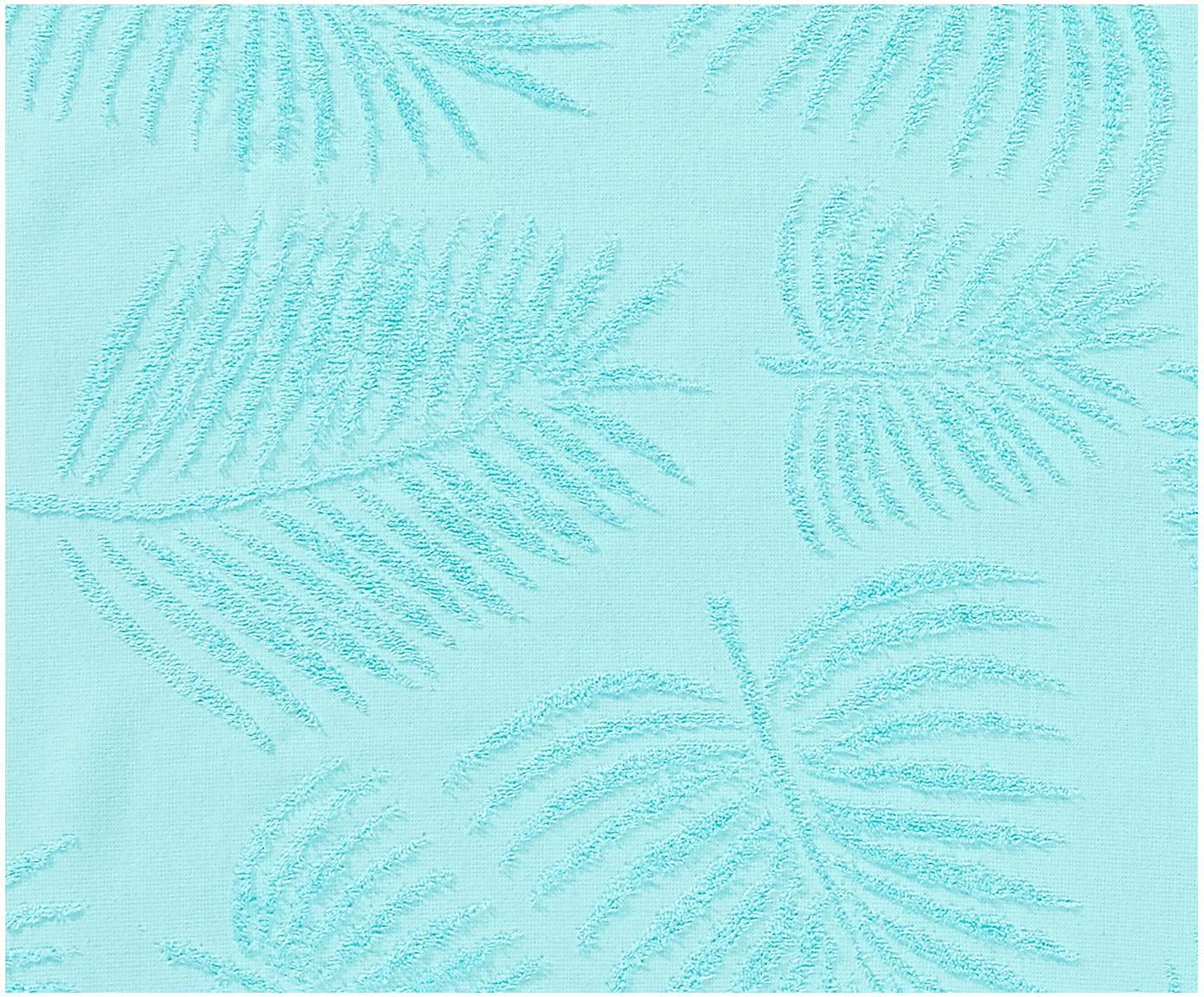 Ręcznik plażowy Capri Palm Leaves, Turkusowy, S 90 x D 160 cm
