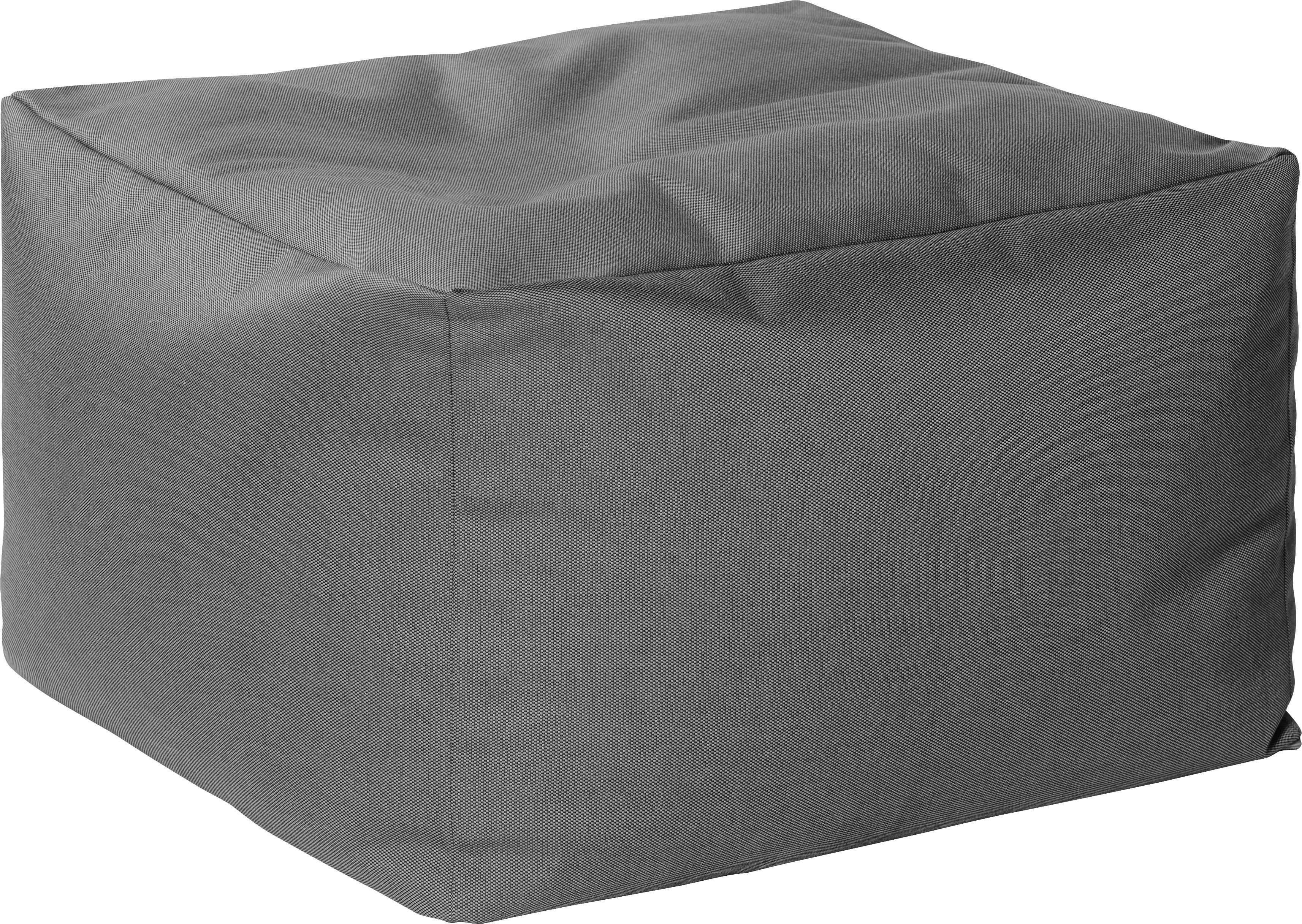 In- & Outdoor Sitzsack Loft, Bezug: 100% Polyacryl Dralon (ga, Anthrazit, B 60 x T 60 cm