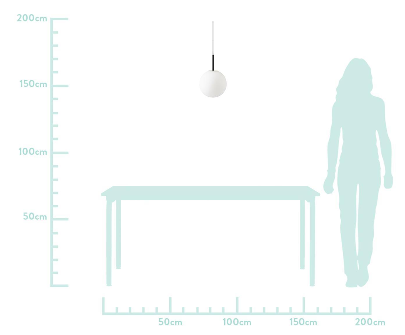 Suspension à LED TR Bulb, Blanc, noir