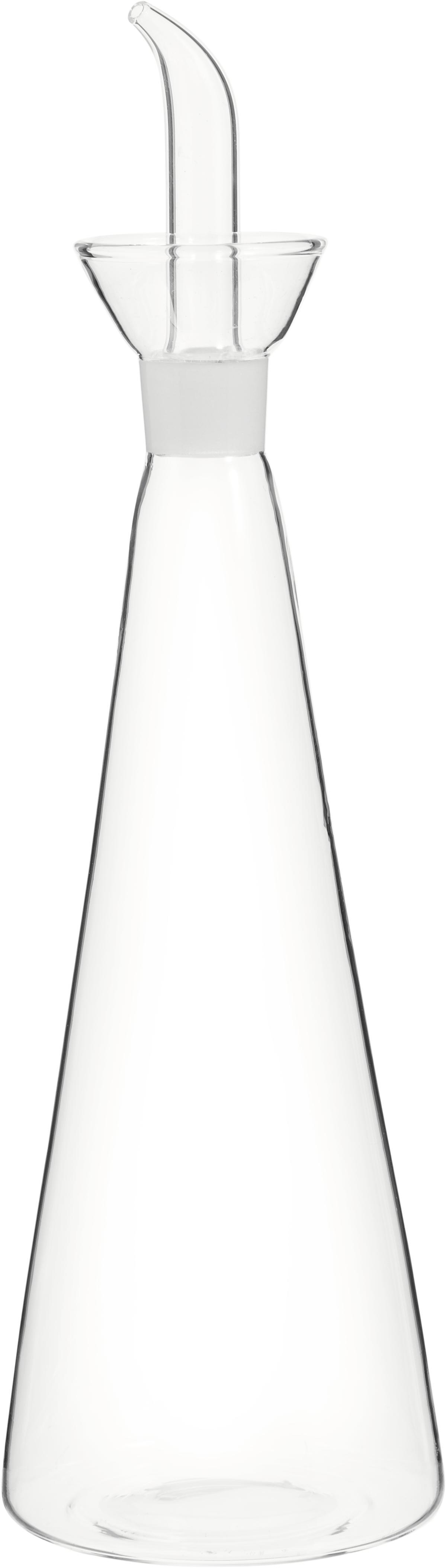 Azijn- en oliedispenser Paul, Glas, Transparant, H 29 cm