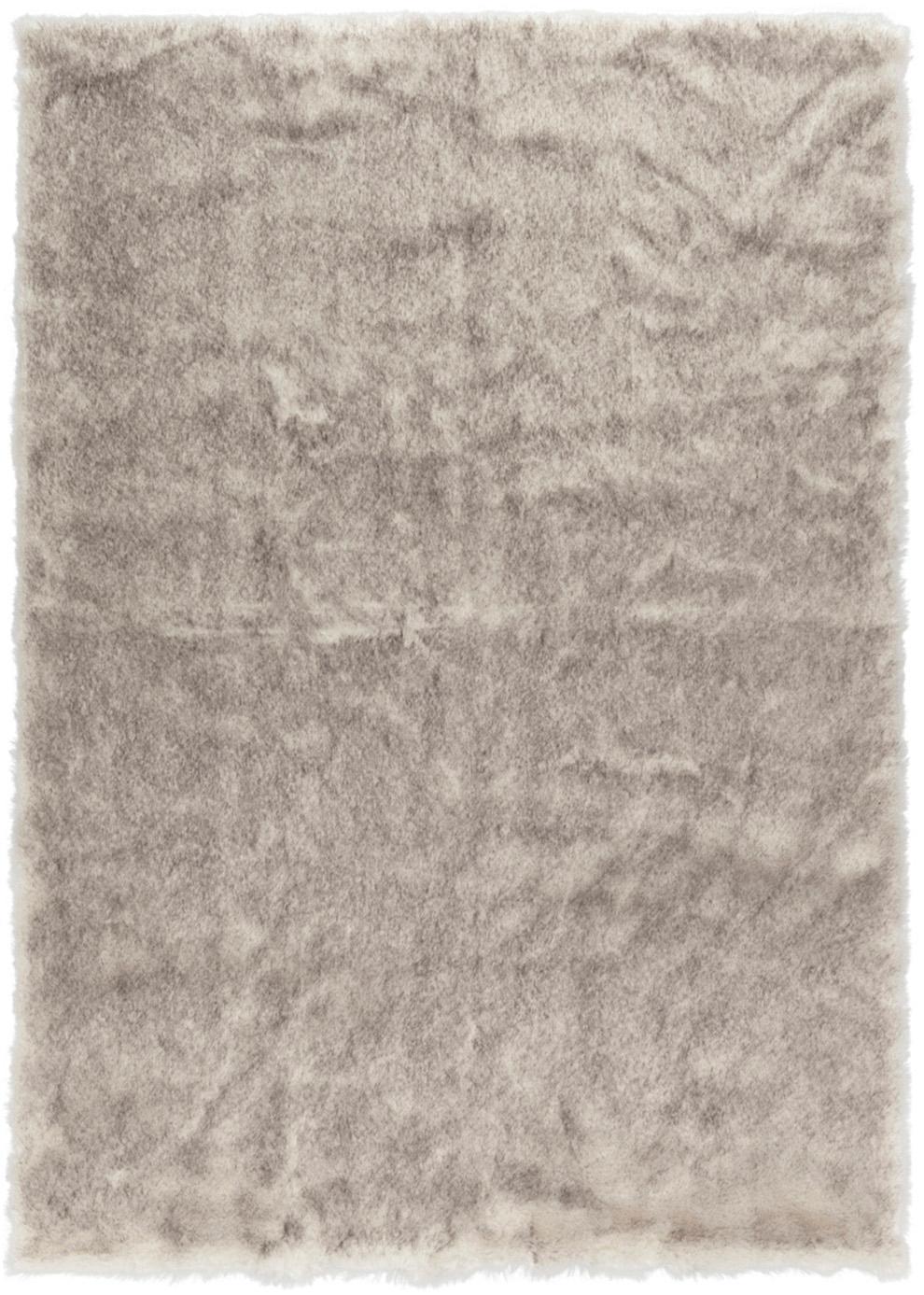 Flauschiger Hochflor-Teppich Superior aus Kunstfell, Flor: 95% Acryl, 5% Polyester, Creme,Beige,Weiss, B 160 x L 230 cm (Grösse M)