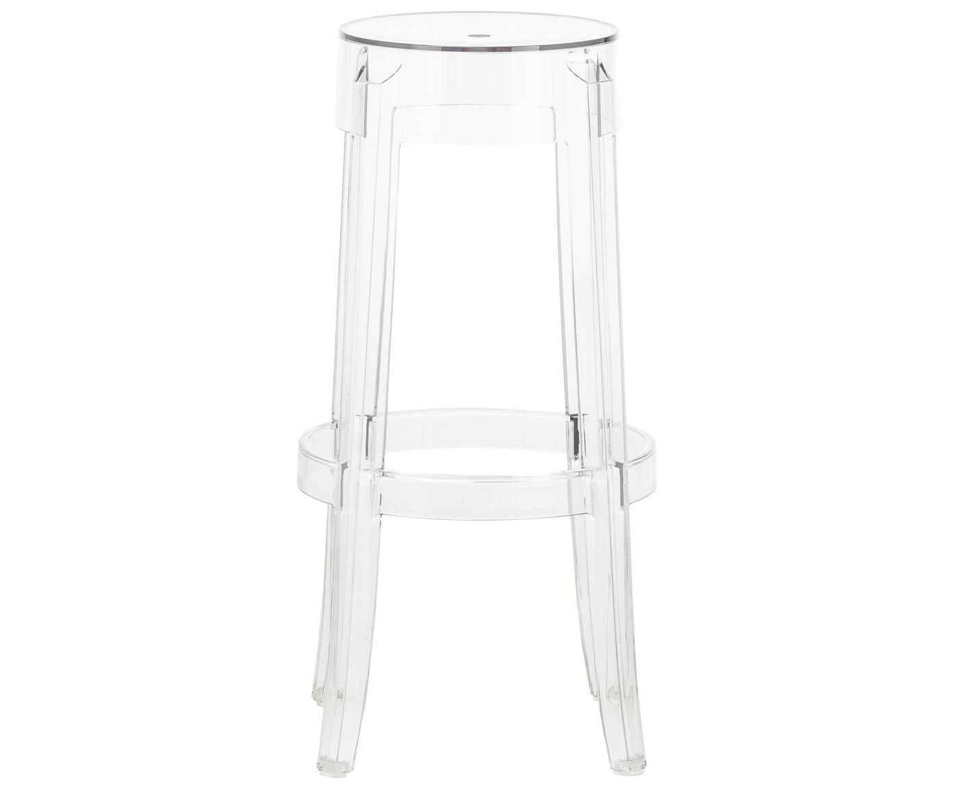 Průhledná barová stolička Ghost, Transparentní