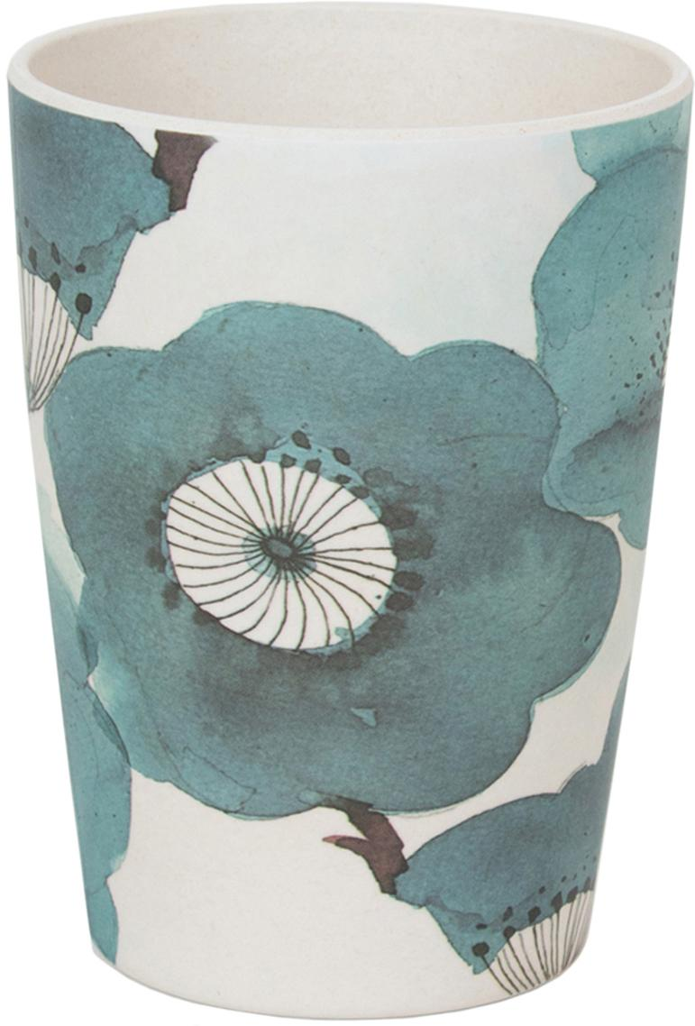 Tazze in bambù Sakura, Fibre di bambù, verniciato, Blu, Ø 8 x Alt. 11 cm