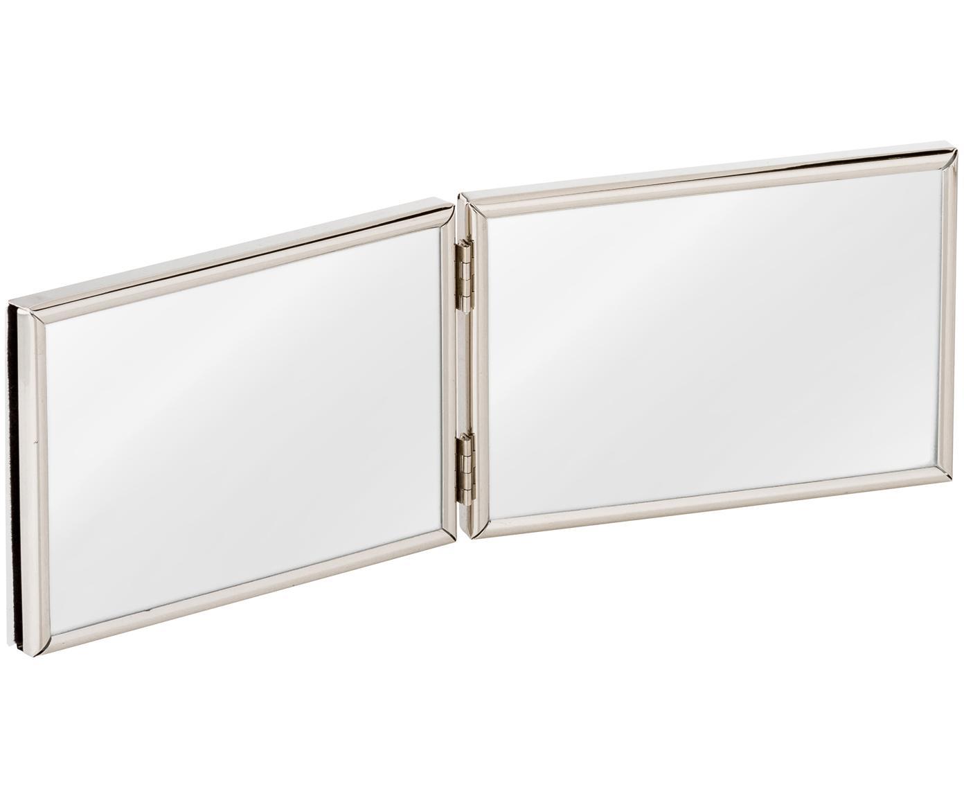 Cornice Carla, Cornice: metallo, verniciato, Cornice: argento Fronte: trasparente, L 15 x A 10 cm