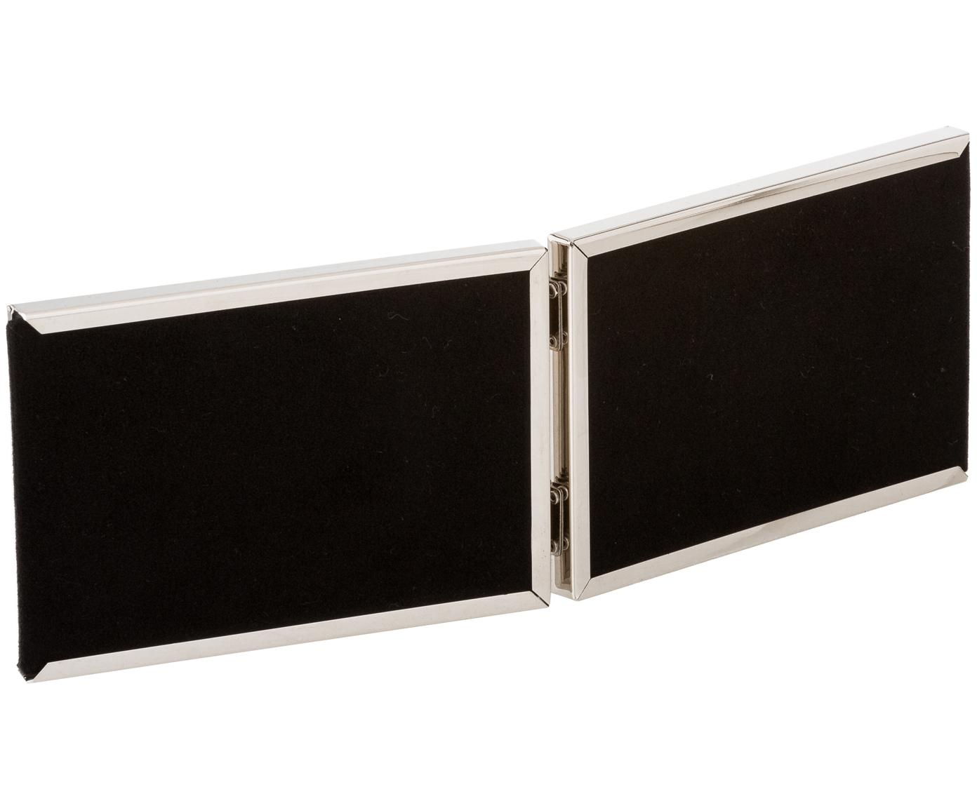 Cadre Carla, Cadre: couleur argentée Vitrage: transparent