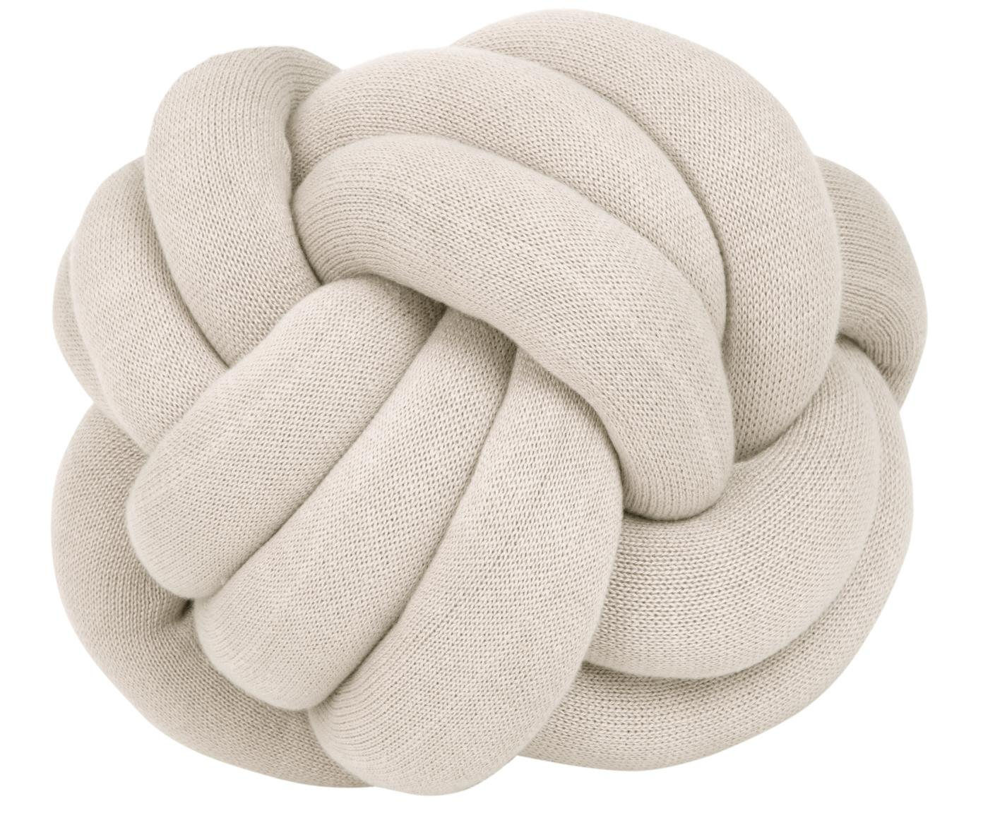 Cuscino Twist, Beige, Ø 30 cm