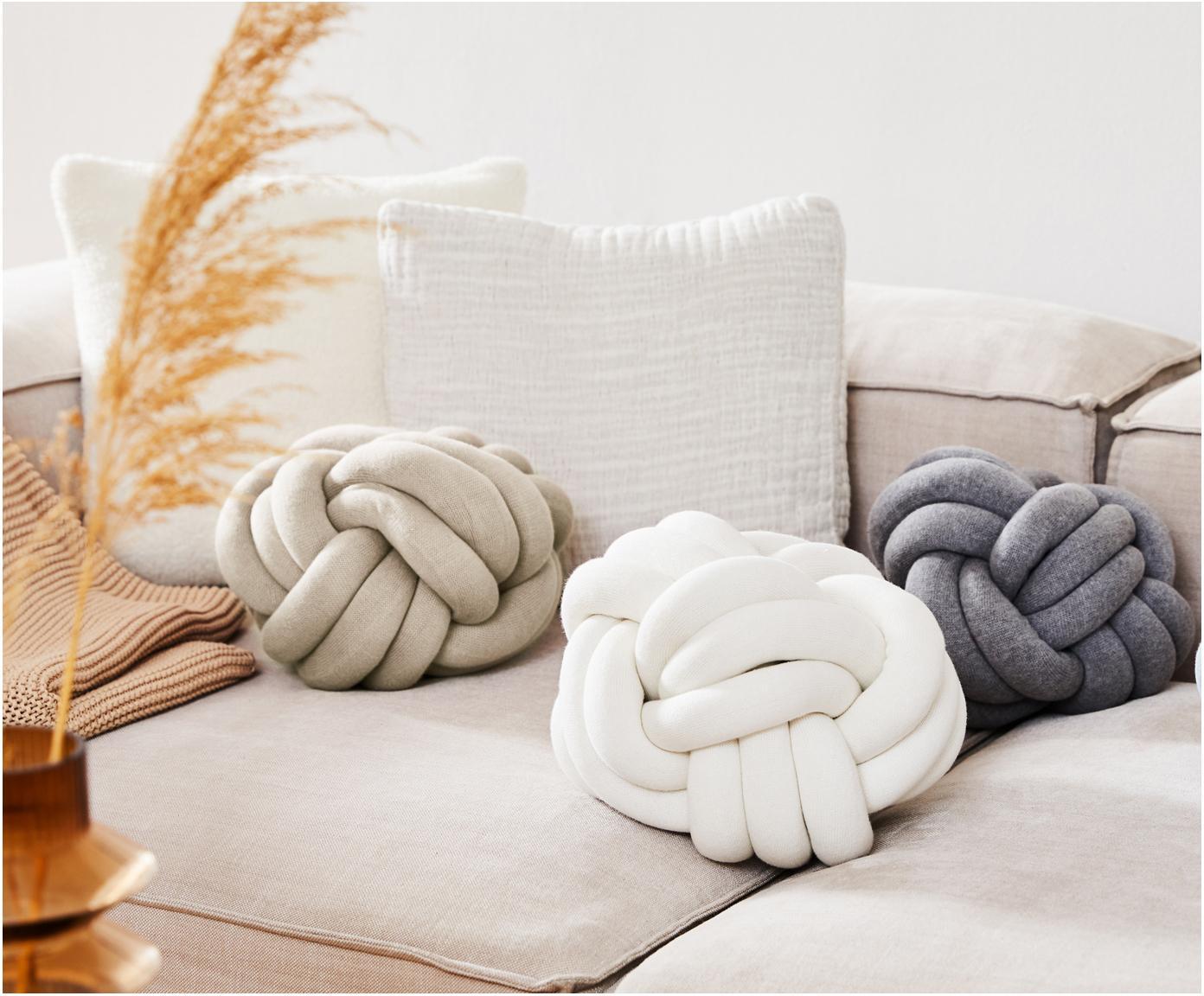 Poduszka Twist, Beżowy, Ø 30 cm