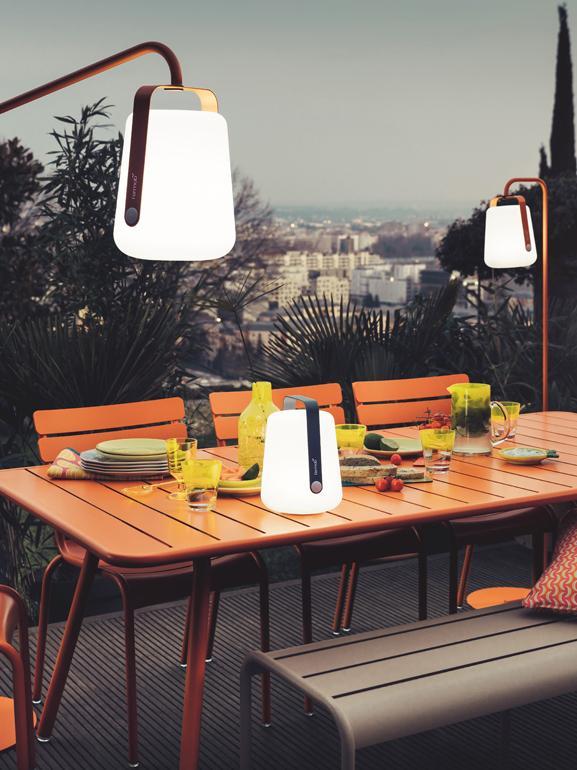 Lampe d'extérieur LED mobile Balad, Gris tempête