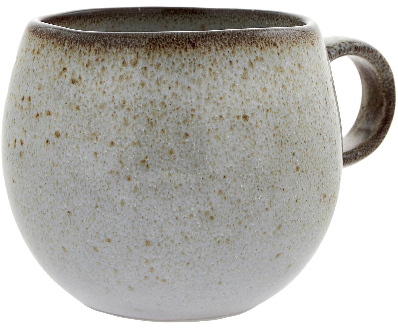 Tasse faite à la main Sandrine, Gris clair