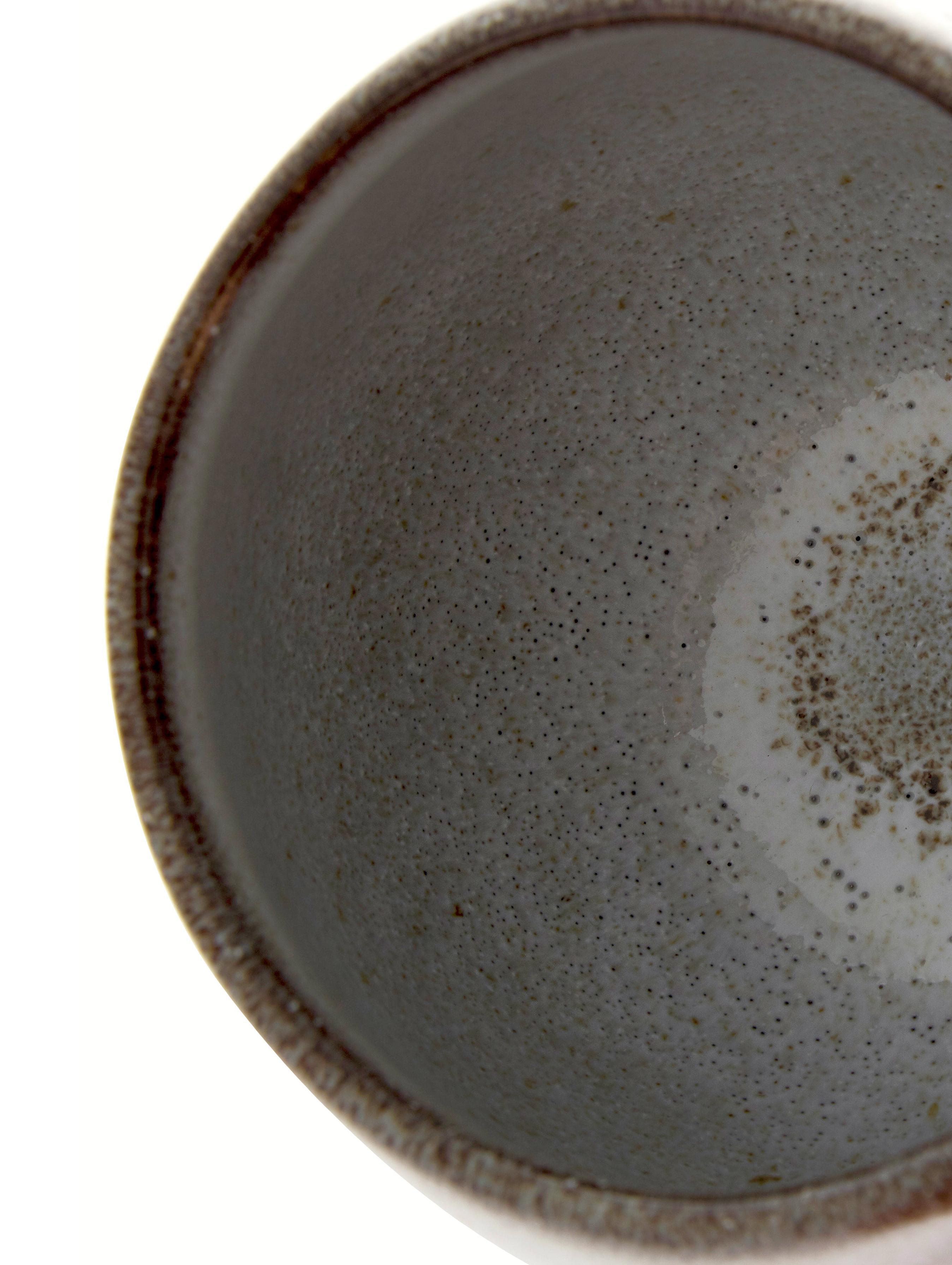 Handgemachte Tasse Sandrine in Beige, Steingut, Beigetöne, Ø 10 x H 10 cm